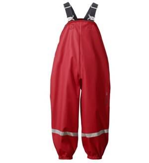 Didriksons Plaskeman Kids Pants Flag Red
