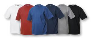 T-shirt med 1 färgs-tryck