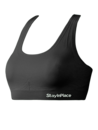 Stay in place line seamless bra Black