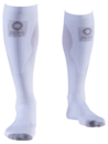 Zero point Intense compression socks white women