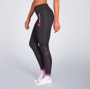 Zero point power compression tights women black