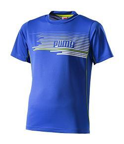 Puma Cell training graphic tee blue